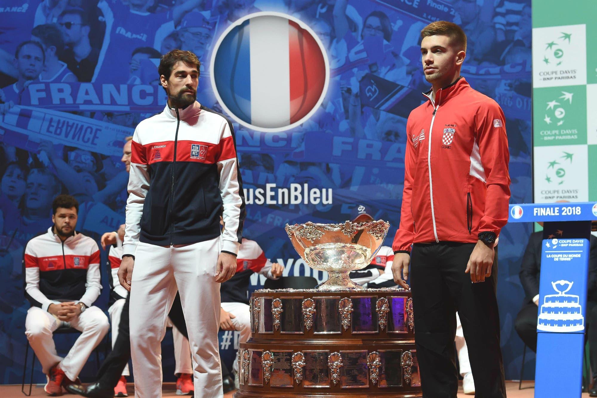 """Copa Davis: Francia y Croacia disputan la última final antes de la """"revolución Piqué"""""""