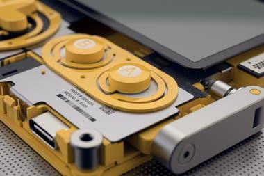 La manivela será un control analógico para interactuar durante las partidas de los 12 juegos que se desbloquearán uno por semana