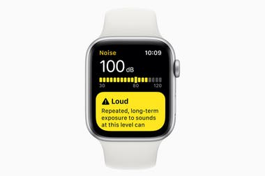 El decibelímetro del Apple Watch