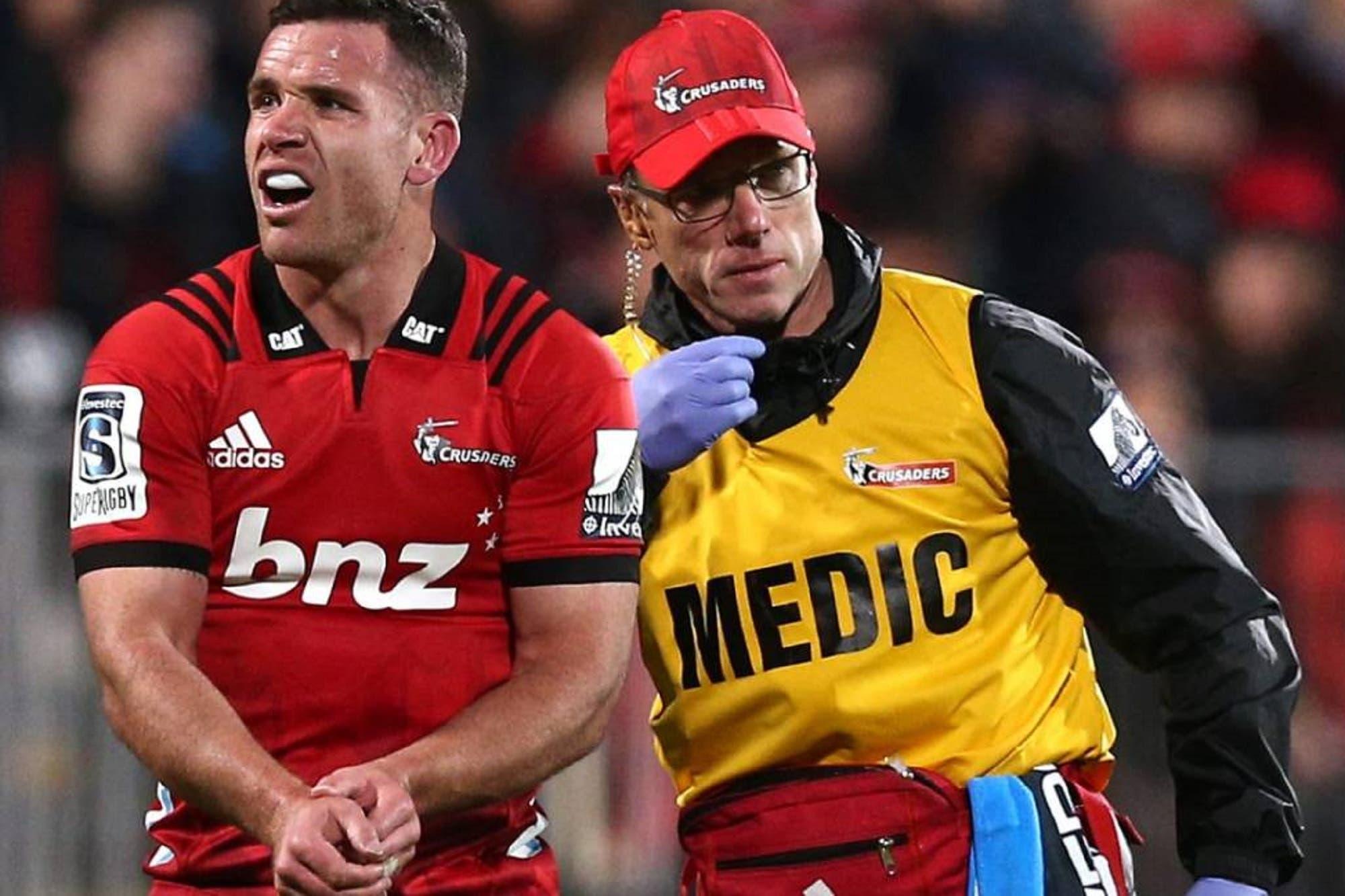 Súper Rugby. Crusaders perdió por lesiones a dos All Blacks para la final con Jaguares