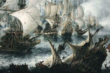 La Guerra de los Ochenta Años que enfrentó a las Diecisiete Provincias de los Países Bajos contra su soberano, quien era también rey de España. Empezó en 1568 y finalizó en 1648 con el reconocimiento de la independencia de las siete Provincias Unidas, hoy conocidas como Países Bajos