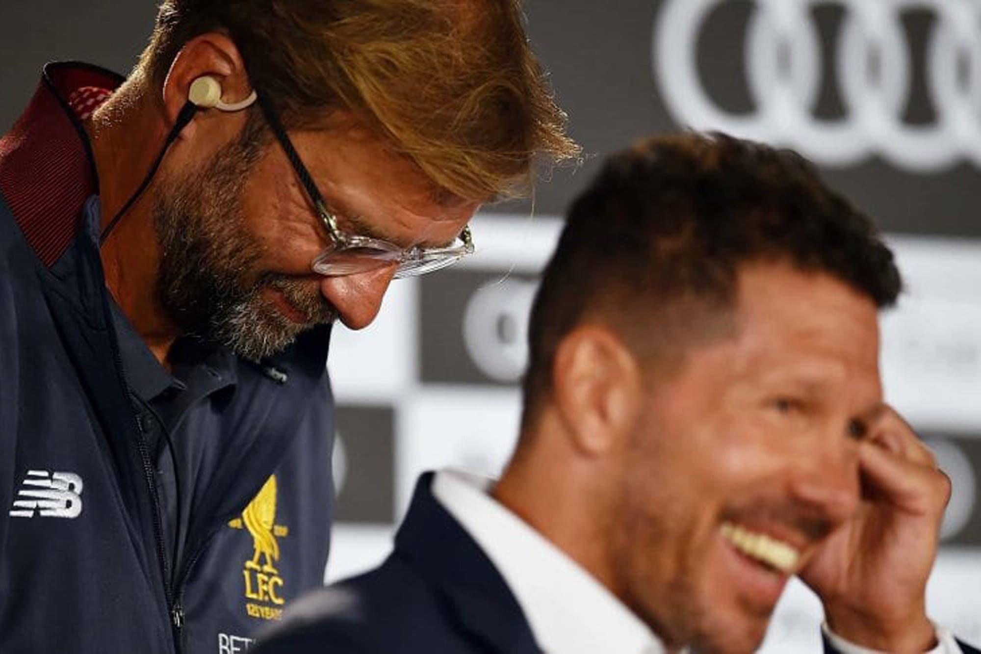 La curiosa frase del DT de Liverpool sobre Simeone, tras el sorteo de la Champions