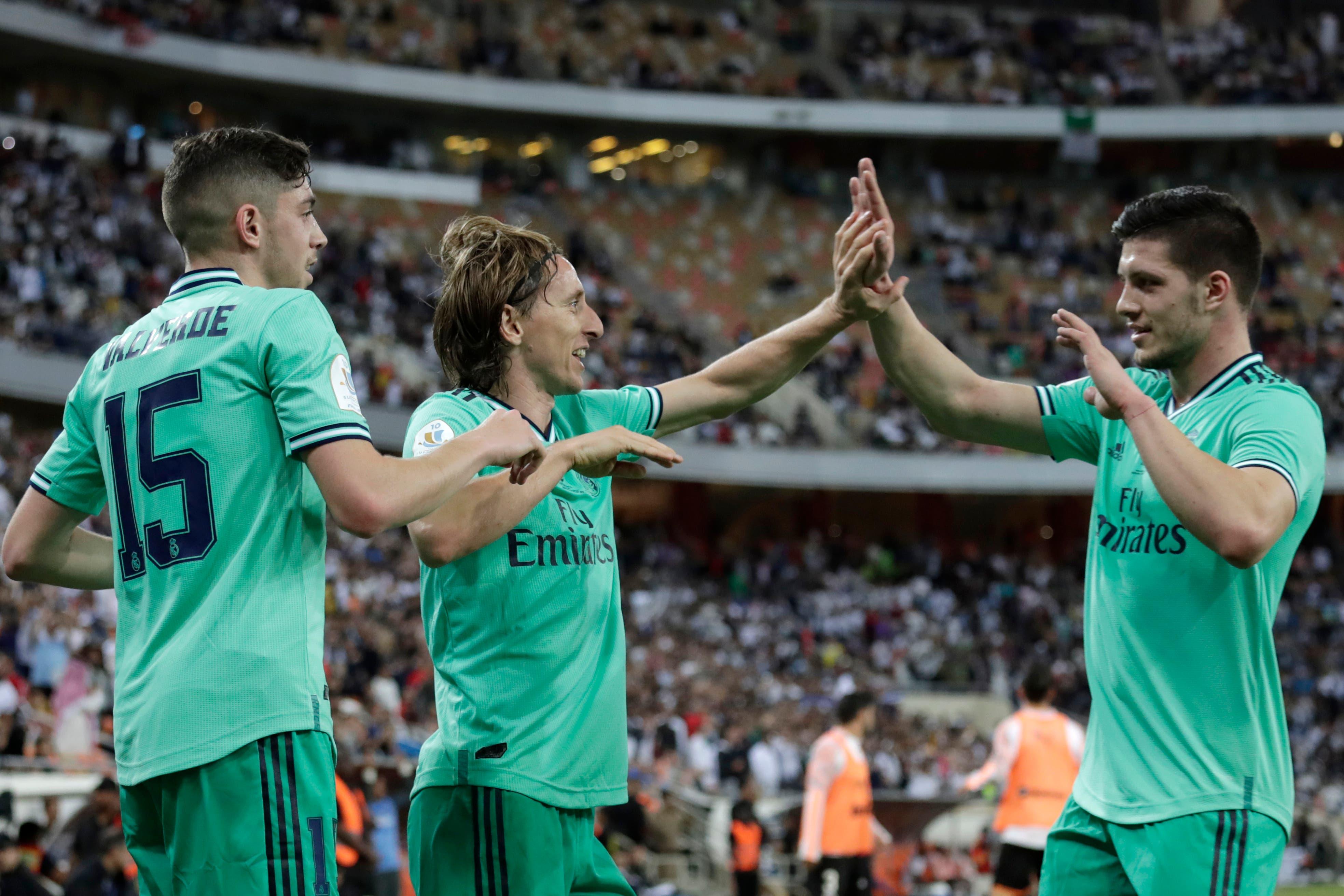 Valencia-Real Madrid Supercopa de España: con una picardía de Toni Kroos y un golazo de Modric, el merengue ganó y es el primer finalista