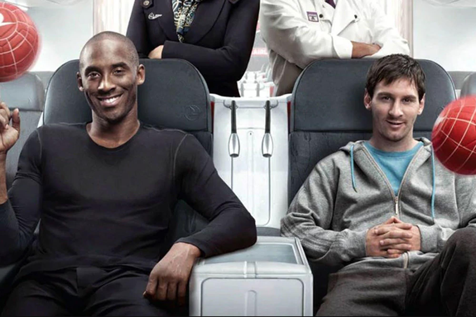 Kobe Bryant. El mensaje de Messi y Maradona ante la muerte de un genio como pocos