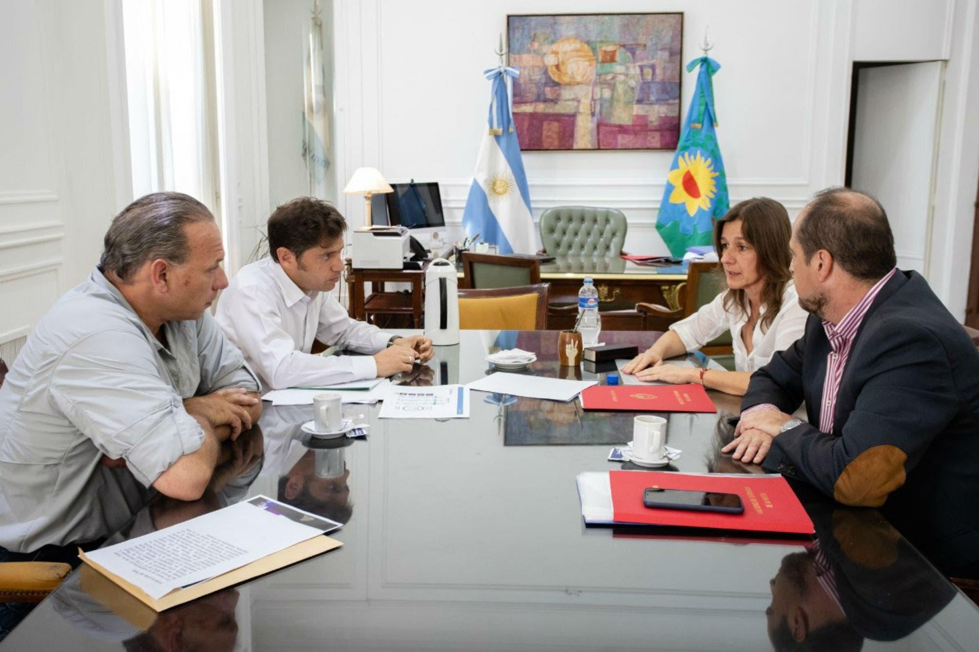 Con Axel Kicillof como mediador, Sabina Frederic y Sergio Berni llegaron a un acuerdo para descomprimir el conflicto
