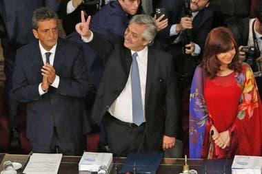 Alberto Fernández abre las Sesiones Ordinarias en el Congreso