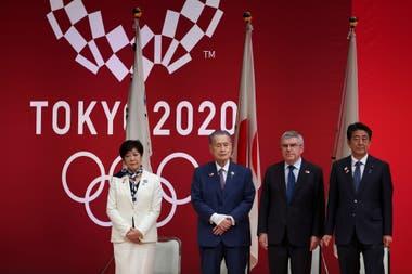 El primer ministro japonés, Shinzo Abe, anunció la postergación de los Juegos Olímpicos de Tokio