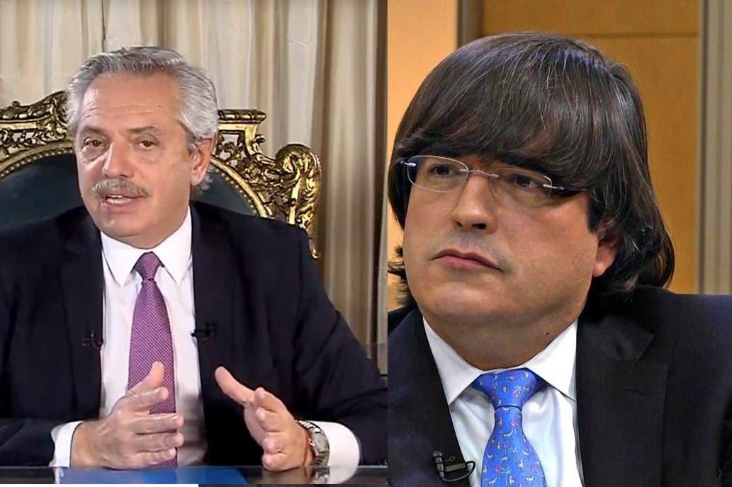 "Jaime Bayly, duro contra Alberto Fernández: ""Es lamentable que usted sea un charlatán"""