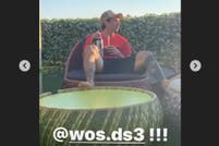 El video de Messi tomando mate y escuchando a Wos