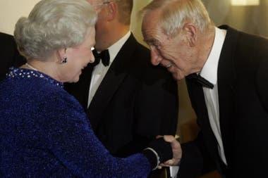 Trautmann y su encuentro con la reina de Inglaterra