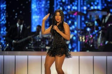 Toni Braxton, en 2017 en una entrega de premios realizada en Las Vegas