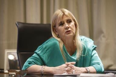 La ministra Marcela Losardo