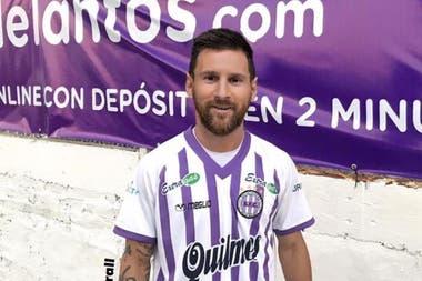 Un usuario fantaseó con la llegada de Messi a Sacachispas