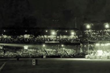 Alrededor de 25 mil personas fueron al Estadio de Griffith, en Washington, para presenciar el casamiento de Sister Rosetta Tharpe con Rusell Morrison