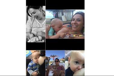 Corina Bainotti (37) es veterinaria y asumió la difusión de la importancia de la lactancia materna como una causa personal, transmitida por su abuela y su mamá