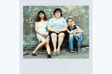 Guille, Belinda y Alessandra Sanguinetti, las tres protagonistas de esta aventura que atraviesa las décadas