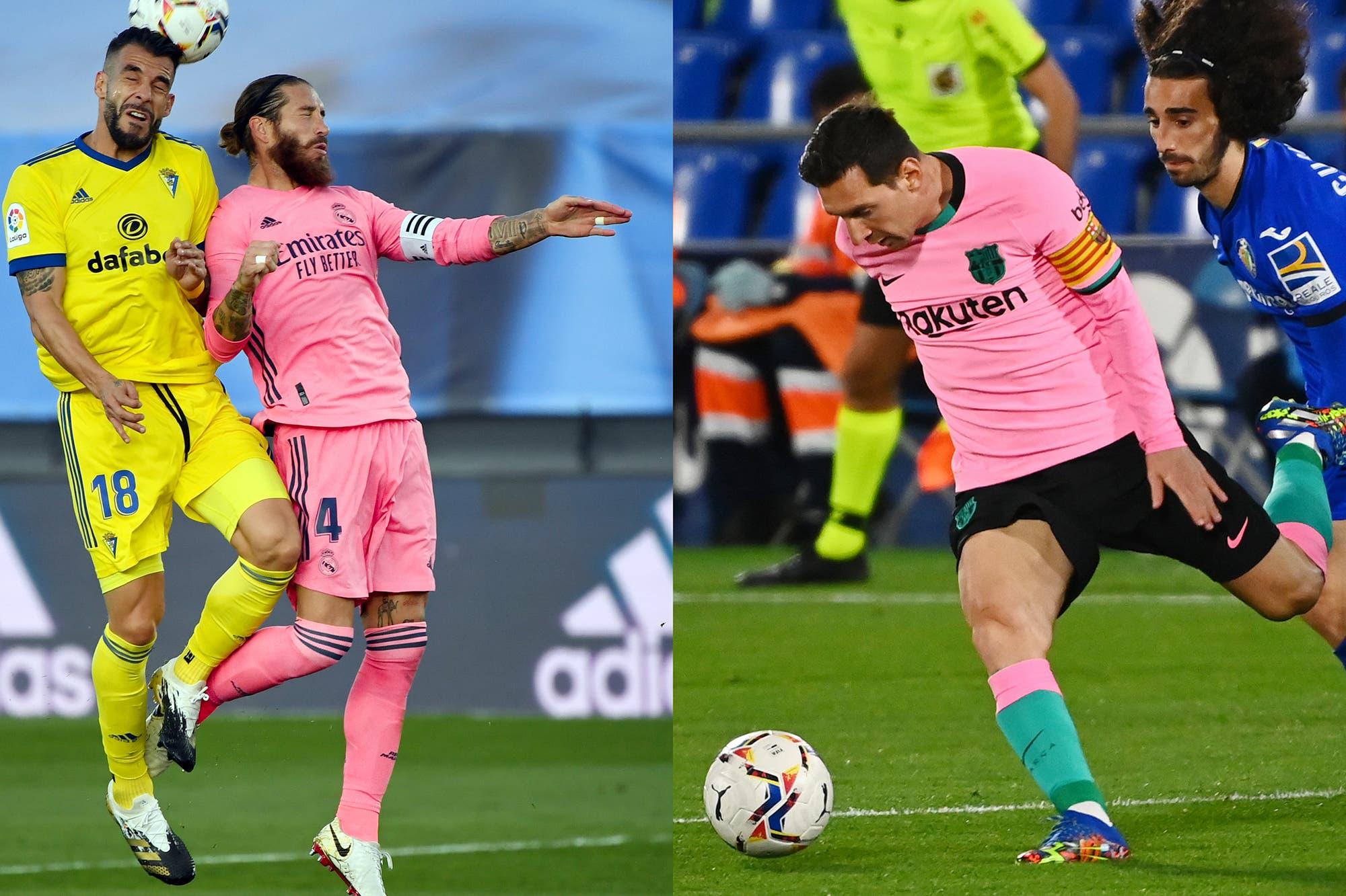 Real Madrid y Barcelona jugaron con camisetas rosas en la Liga de España y les pasó lo mismo que hace 20 años