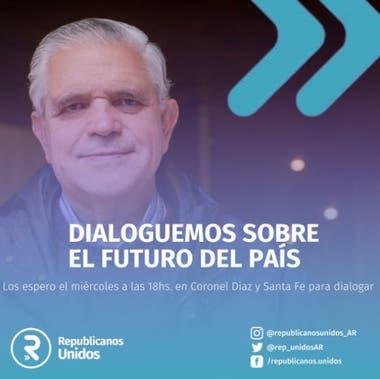 López Murphy regresa a la política, el miércoles estará en Buenos Aires en lo que será su primera actividad presencial del año