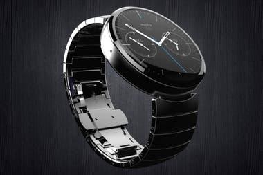 9cde70175268 Se amplía la oferta de relojes inteligentes en la Argentina. El Motorola  Moto 360