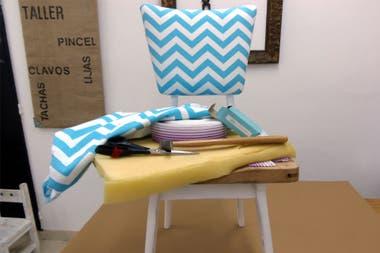 c839f4578b7 Reciclá los asientos de tus sillas. Ya te contamos cómo tapizar ...