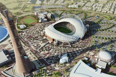 Resultado de imagen para Así es la infraestructura de Qatar 2022, sus estadios y complejos deportivos
