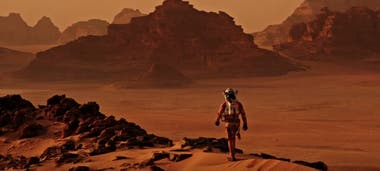 Fotograma de The martian, protagonizada por Matt Damon