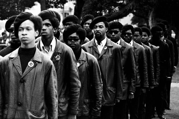 Un grupo de Panteras negras