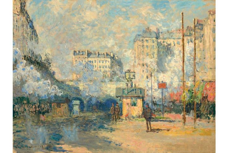 Saint Lazare, de Claude Monet