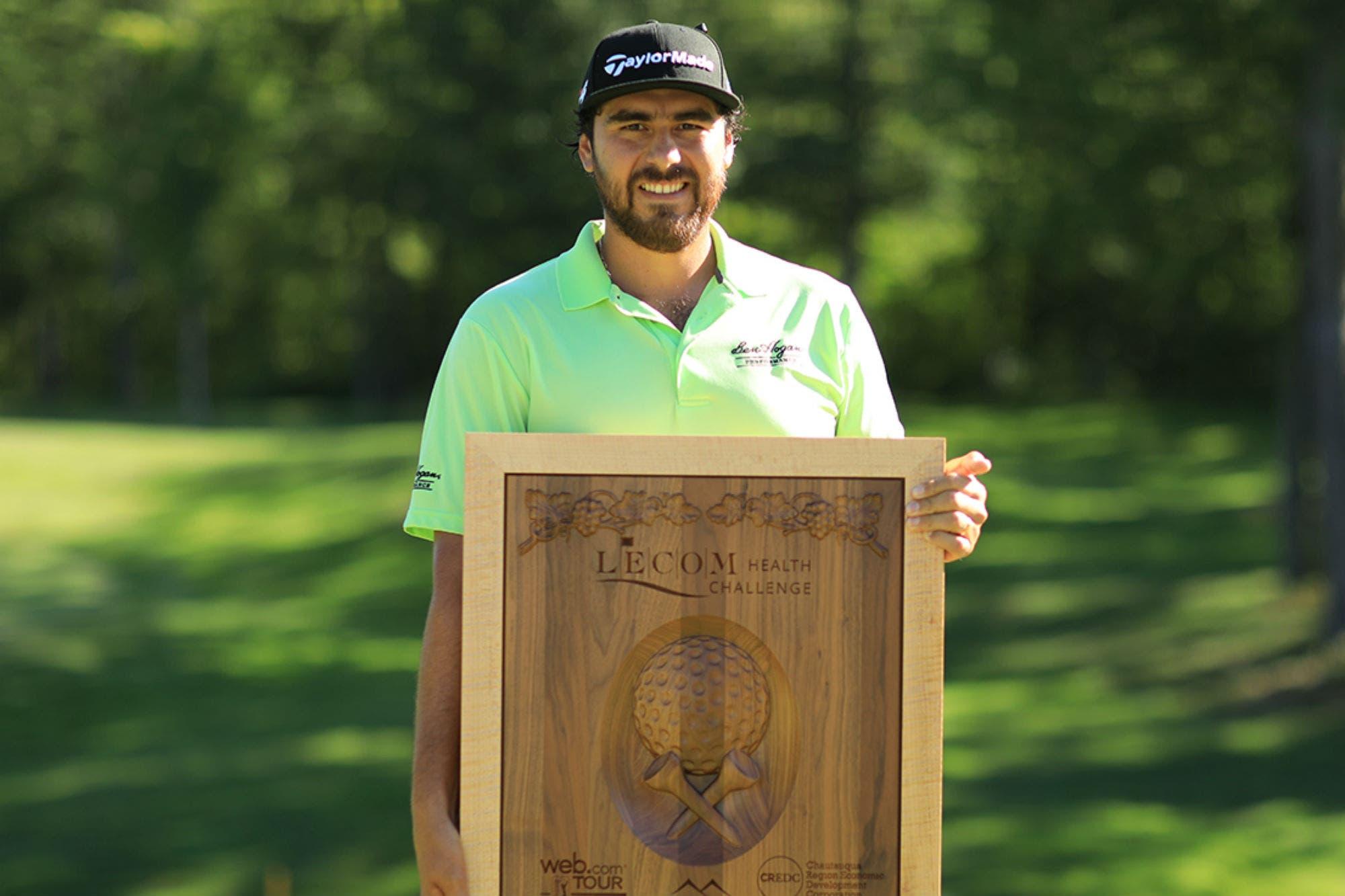 Un gran salto al sueño del PGA Tour: el tucumano Nelson Ledesma ganó su primer título en el Web.Com