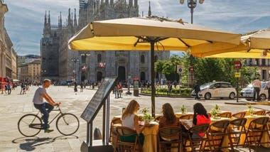 Milán es el centro empresarial y de moda, pero también tiene restaurantes de primera