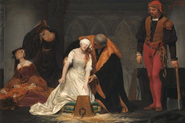 La ejecución de Lady Jane Grey, en manos de Paul Delaroche