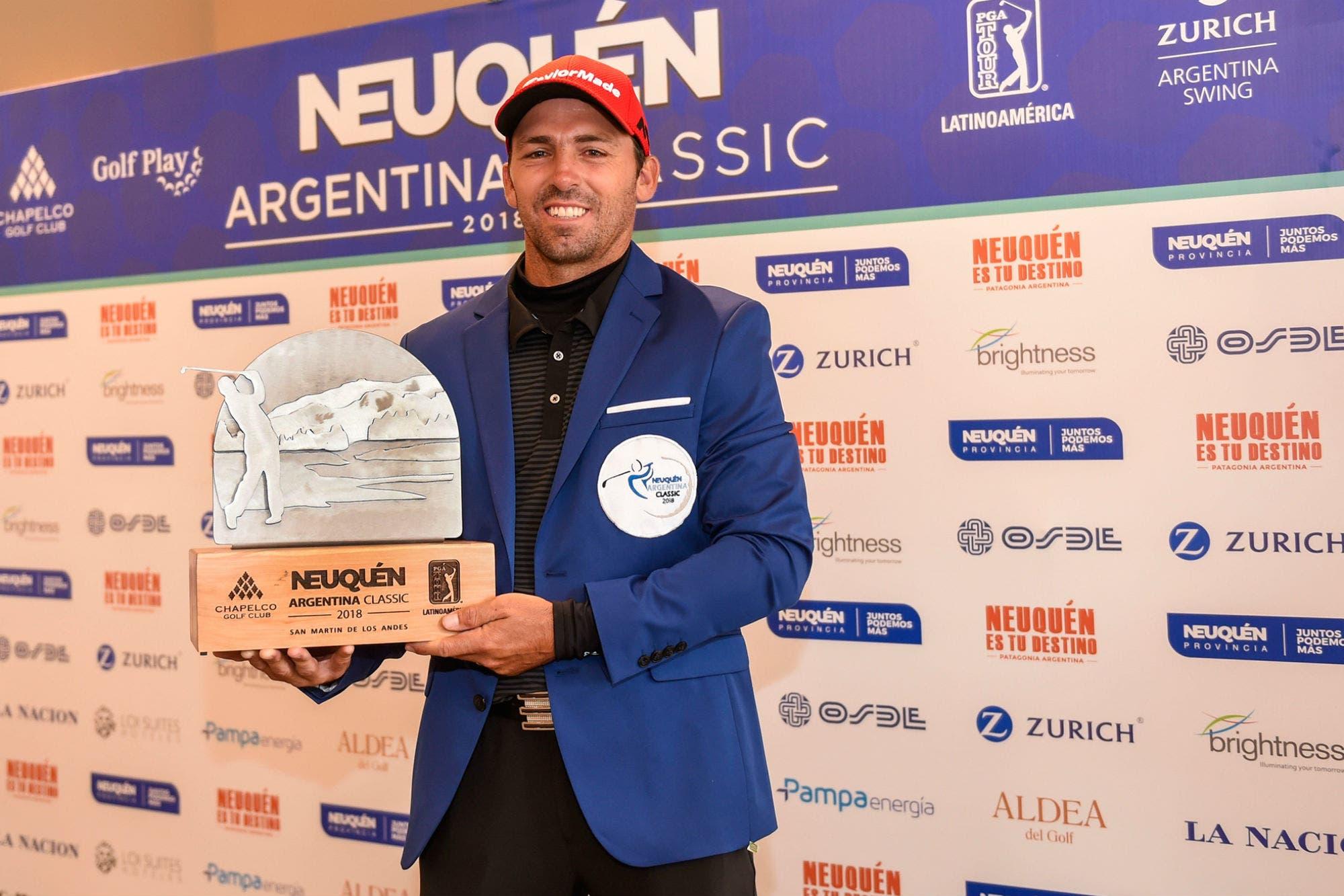 PGA Tour Latinoamérica: Clodomiro Carranza, el campeón en la Patagonia que ahora sueña con el Abierto