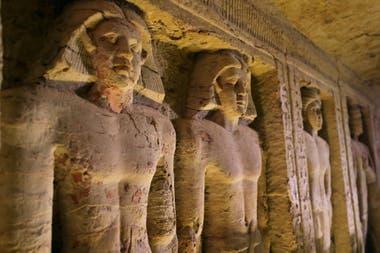 """Según las autoridades, el sepulcro está """"excepcionalmente bien conservado"""""""