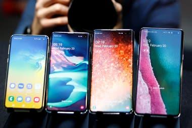 Los cuatro Galaxy: S10e, S10, S10+ y S10 5G
