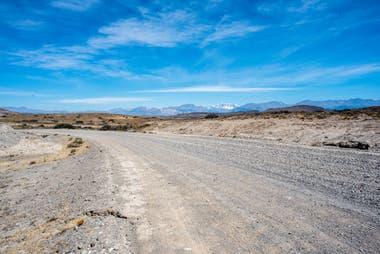 Carretera, las distancias son enormes