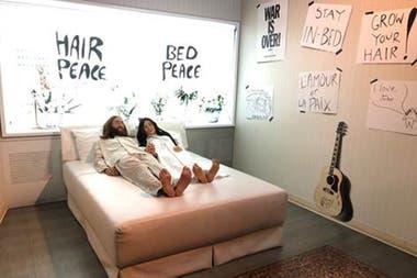 Recuerdos del bed in, con Yoko, en Montreal