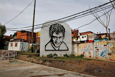 La puerta de entrada a la villa Rodrigo Bueno en Puerto Madero donde se inici el proceso de urbanizacin