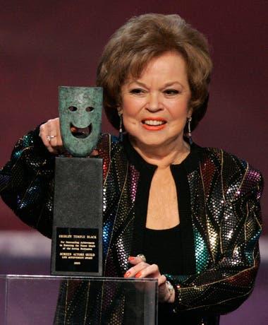 En 2006, Temple recibió un tardío reconocimiento a su trayectoria en los Screen Actors Guild Awards