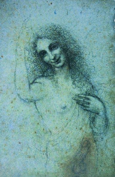 """""""Angelo incarnato"""", el único dibujo erótico de Leonardo"""