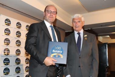 Gustavo Grobocopatel durante el Ciclo de Conferencias organizado por el Rotary Club de Buenos Aires