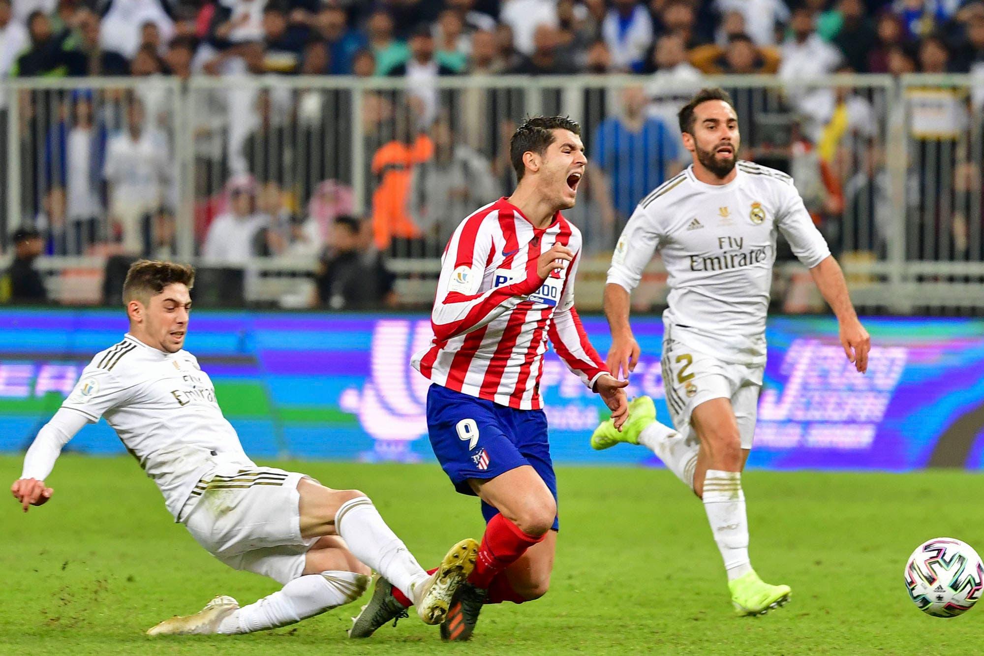 Una patada que vale un título: la acción de Federico Valverde le dio la Supercopa a Real Madrid