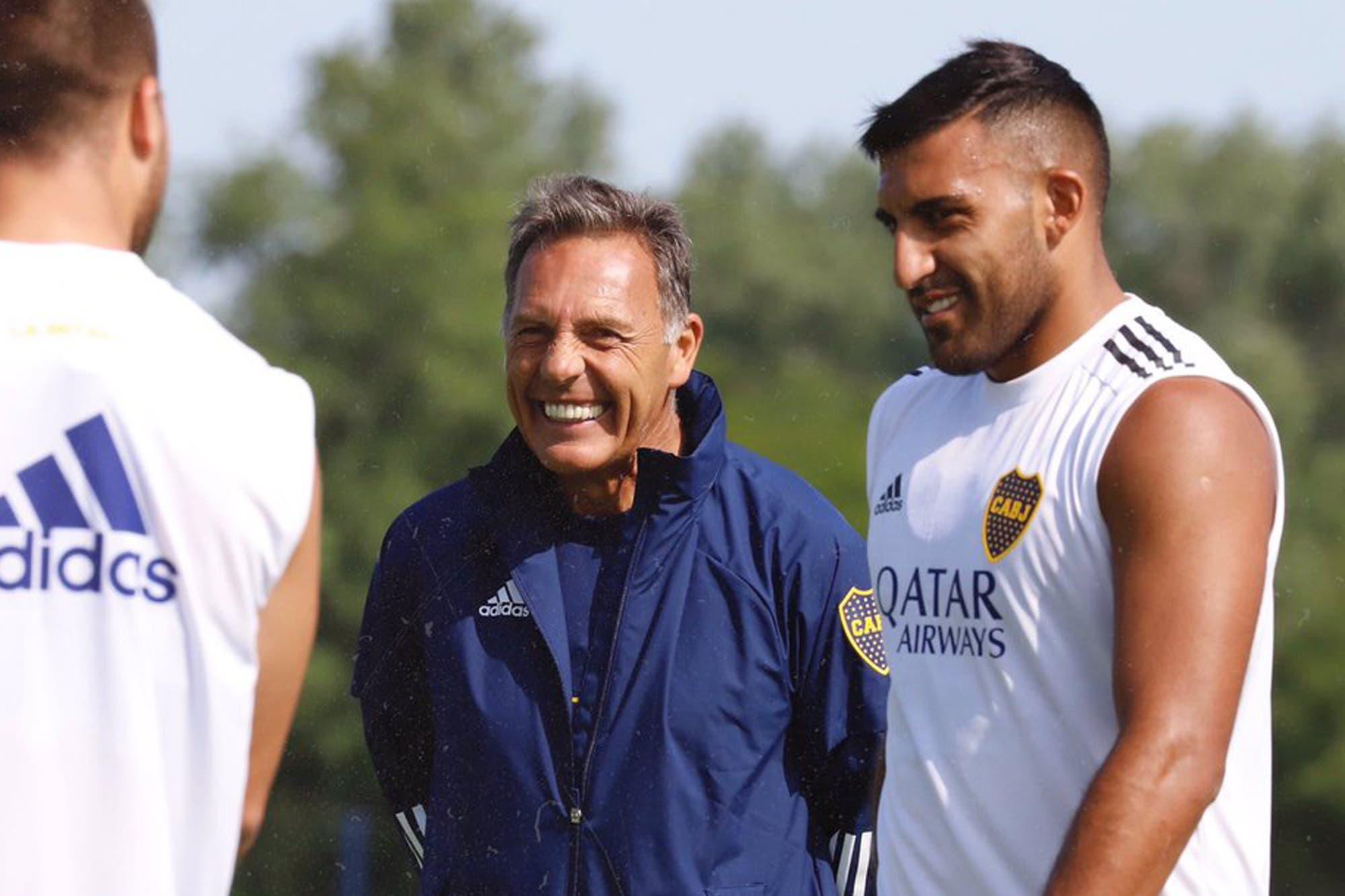 Boca: el posible equipo para el debut de Miguel Ángel Russo y la baja de última hora