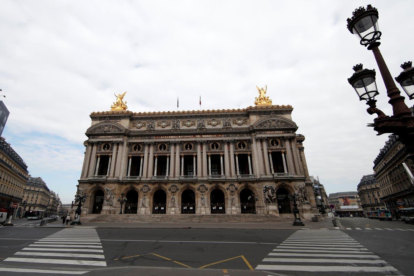 La Ópera Garnier, otro clásico parisino despojado de turistas