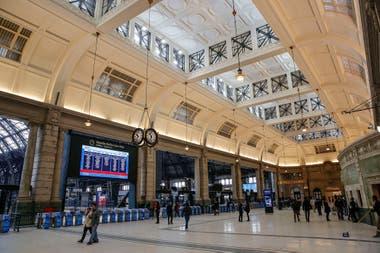 La estación de trenes de Retiro representa la potencia innovadora del sistema ferroviario en las construcciones