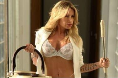 La actriz se mostró muy sensual en las redes sociales
