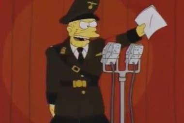 El episodio sobre el locutor nazi