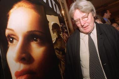 En la Argentina. Alan Parker, el director de Evita, la película protagonizada por Madonna, Jonathan Pryce y Antonio Banderas