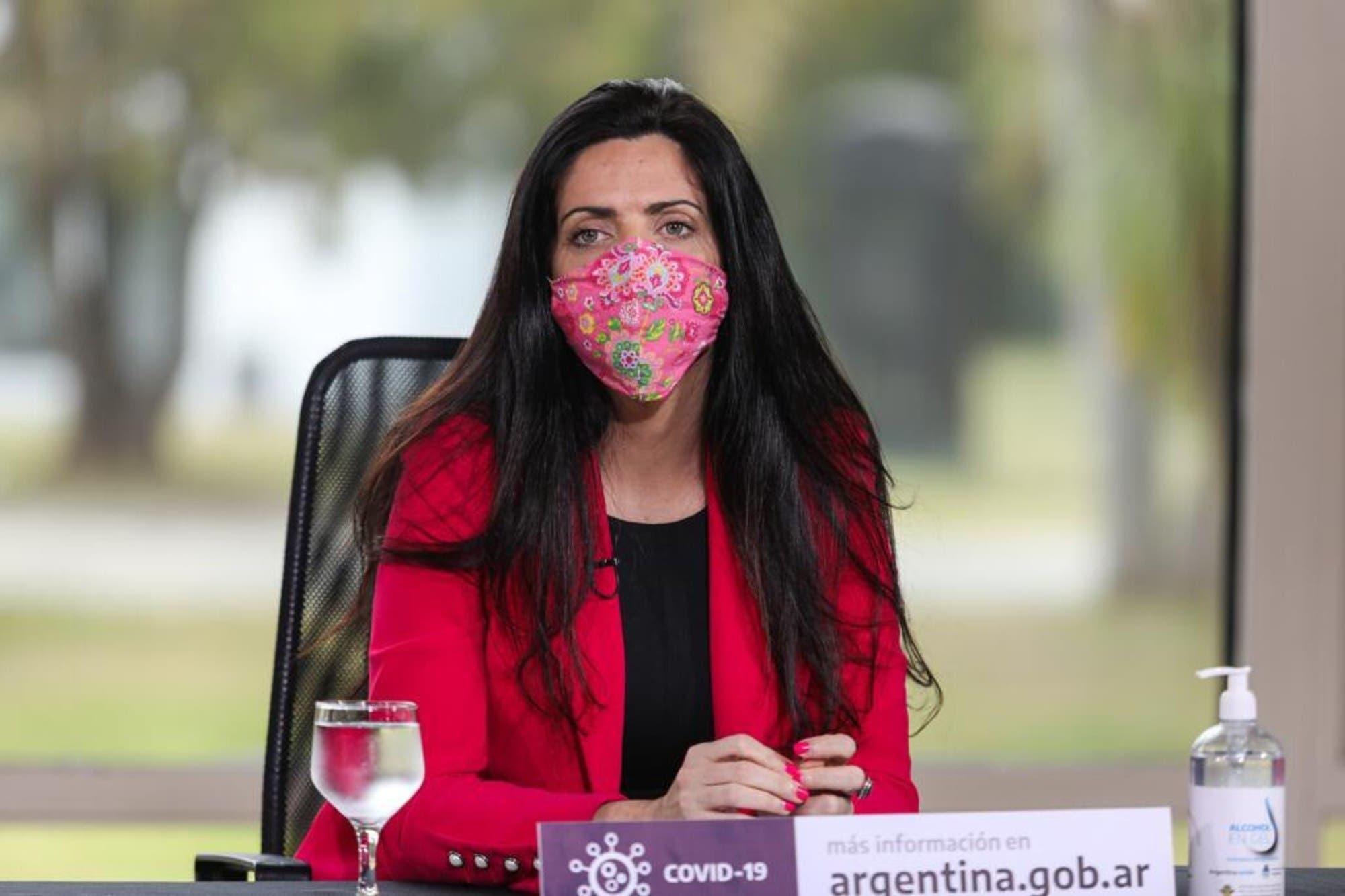 Tras la acusación, Luana Volnovich y Fernán Quirós se reunieron por la vacunación de afiliados del PAMI