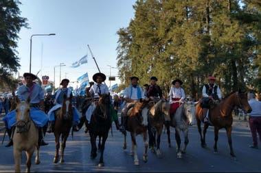 De a caballo, en Avellaneda, Santa Fe