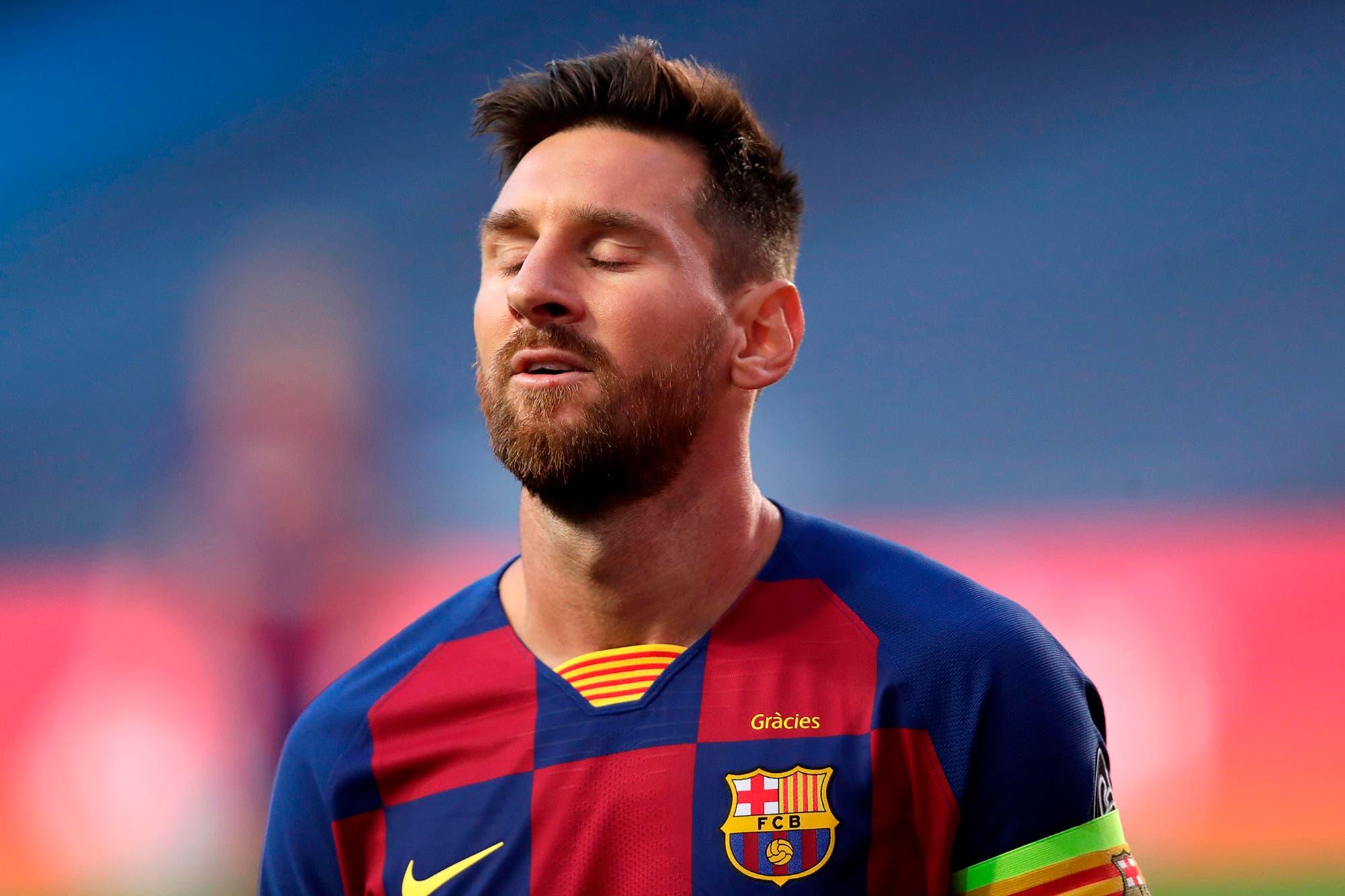 Messi, atado de pies y manos en su propia burbuja